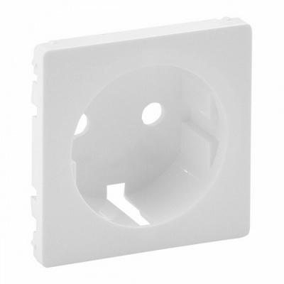 Лицевая панель Legrand Valena LIFE розетки 2К+З, Белая