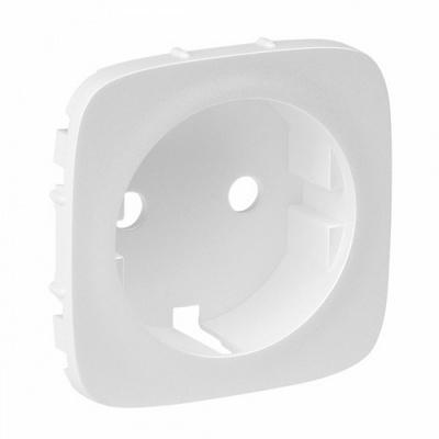 Лицевая панель Legrand Valena ALLURE, розетки 2К+З, Белая