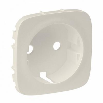 Лицевая панель Legrand Valena ALLURE, розетки 2К+З, Слоновая кость