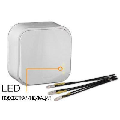Лампа светодиодная для выключателей Legrand Quteo