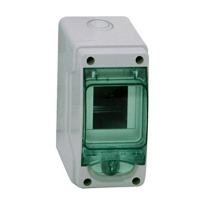 Бокс влагозащищенный Schneider Electric KAEDRA IP65, 2-3 модуля 150х80х98, с прозрачной дверцей, навесной