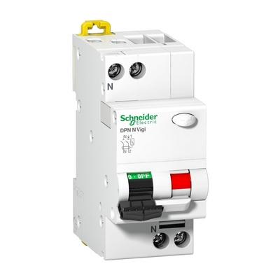 Дифференциальный автомат Schneider Electric Multi9 DPN N VIGI, 16 Aмпер, 30МA AC, 6кА