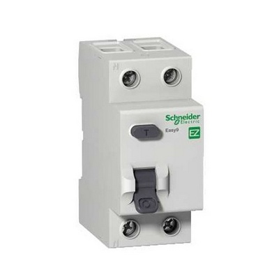 Дифференциальный автомат Schneider Electric Easy9, 1П+Н 16А 30мА, C, AC 4,5кА 230В