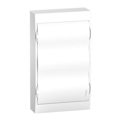 Бокс Schneider Electric Easy9, 36-модулей, навесной с белой дверью, IP40