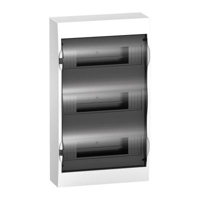 Бокс Schneider Electric Easy9, 36-модулей, навесной с прозрачной дверью, IP40