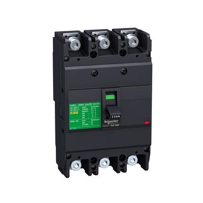 Автоматический выключатель Schneider Electric EZC250N, 100 Ампер, 3-полюса, 25kA/400В