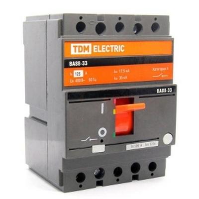 Автоматический выключатель ВА88-33, 3-полюсный, 100 Ампер, 35кА, TDM
