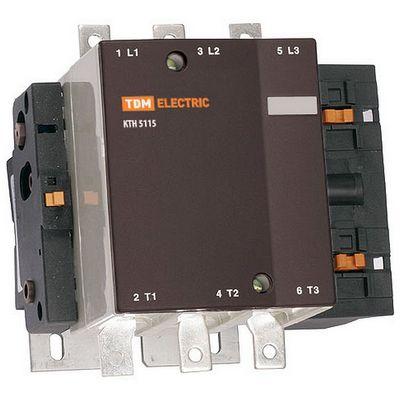 Контактор TDM КТН-6400, 400 Ампер, катушка управления 230В/АС3