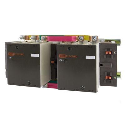 Контактор TDM КТН-51153 реверсивный, 115 Ампер, катушка управления 230В/АС3