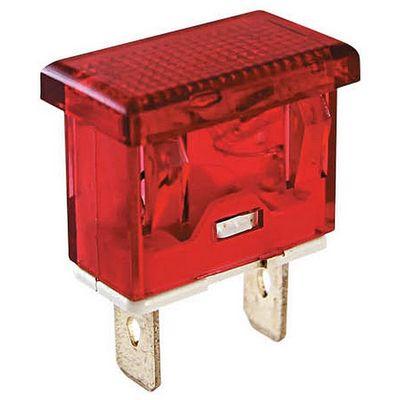 Лампа индикаторная TDM YL238-02 сигнальная красная неон 230В