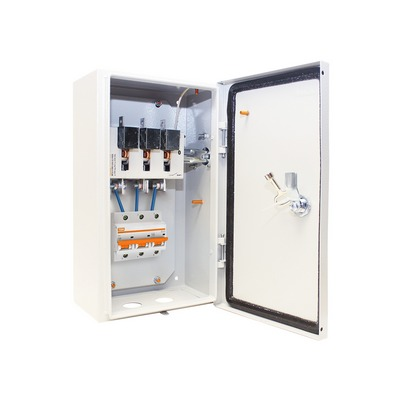 Ящик с рубильником без предохранителей ЯРП-100-25А IP54 (с автоматическим  выключателем ВА 47-100) TDM