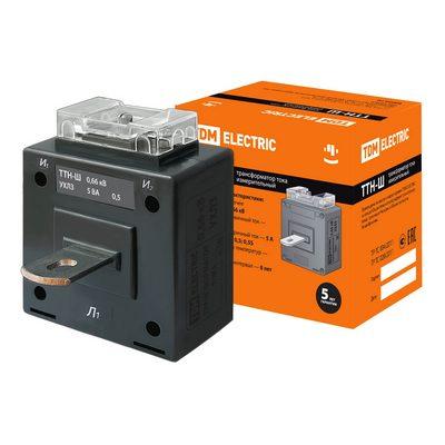 Трансформатор тока TDM с шиной ТТН-Ш 250/5- 5VA/ класс точности 0,5-Р