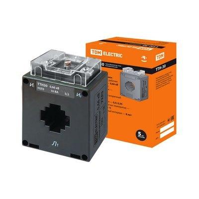 Трансформатор тока TDM ТТН 40/500/5- 5VA/ класс точности 0,5-Р
