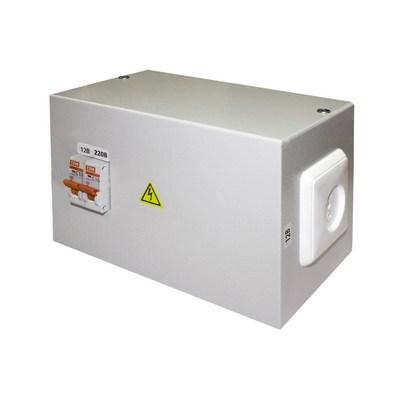 Ящик с трансформатором понижающим TDM ЯТП-0,25 220/12, 2 автомата, IP31