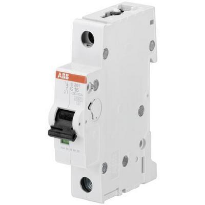 Автоматический выключатель ABB S201 C16 1-полюсный