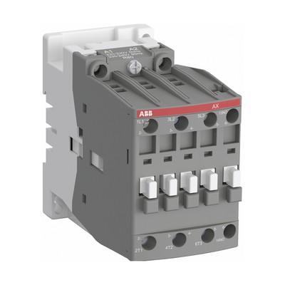 Контактор ABB AX09-30-01-80 9А AC3, 3-полюсный, с катушкой управления 220-230В АС