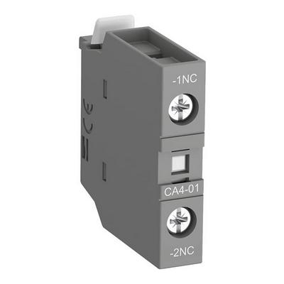 Контакт фронтальный ABB CA4-01 1НЗ для контакторов AF09-AF96 и NF