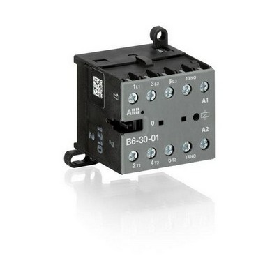 Миниконтактор ABB B6-30-01, 9A (400В AC3) катушка управления 24В АС