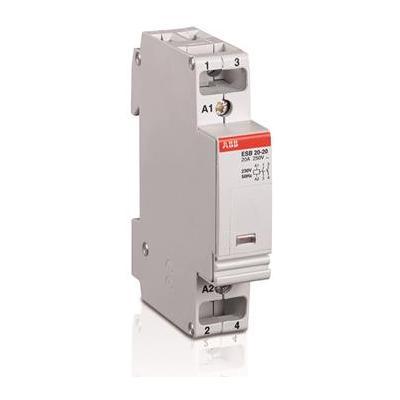 Контактор модульный ABB ESB-20-20 20А AC1 катушка управления 220 В АС
