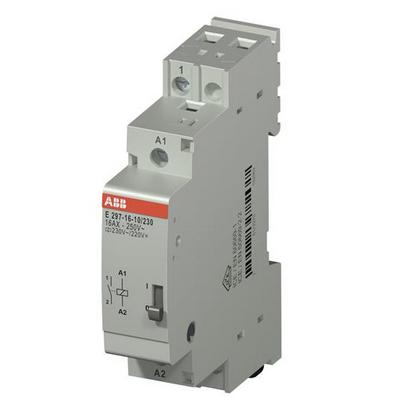 Электромеханическое реле ABB E297-16-10/230, 16А, с катушкой 230В, установочное