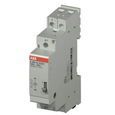 Электромеханическое реле ABB E290-16-10/230, 16А, с катушкой 230В, с блокировкой