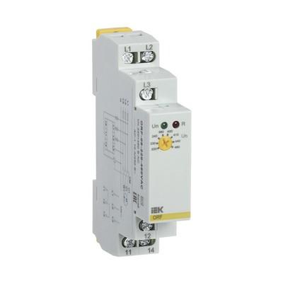 Реле контроля фаз ИЭК ORF 08. 3ф 220-460В AC