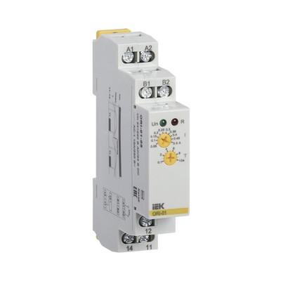 Реле тока ИЭК ORI. 1,6-16А, 24-240В AC / 24В DC