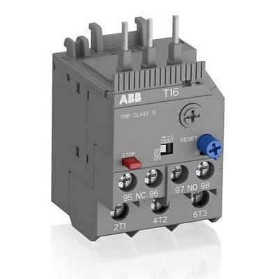 Реле перегрузки тепловое ABB T16-2.3 диапазон уставки 1.7А-2.3А для контакторов типа B6, B7