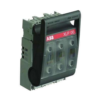 Рубильник ABB откидной XLP000-6CC под предохранители до 100А кабельными клеммами