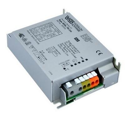 ЭПРА Vossloh Schwabe VS EHXc 70.326 198-264V 110х75х30 2,5 мм для металлогалогенных ламп мощностью 70 Ватт