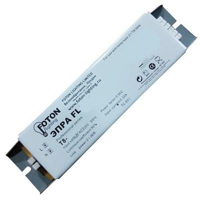 ЭПРА Foton FL2х18W 180x40x30 для люминесцентных ламп T8