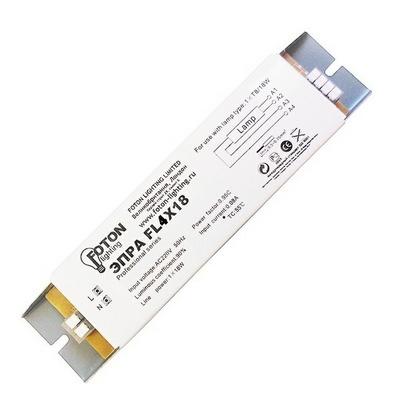 ЭПРА Foton FL4х18W 182x43x30 для люминесцентных ламп T8