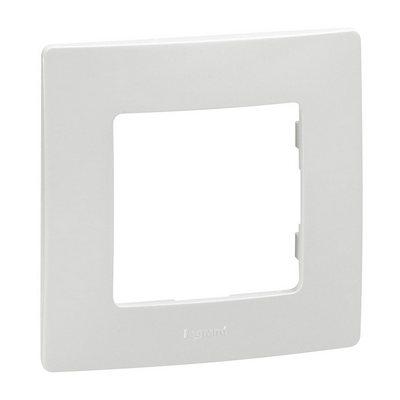 Рамка Legrand Etika 1-постовая, белый