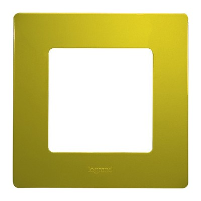 Рамка Legrand Etika 1-постовая, зеленый папоротник