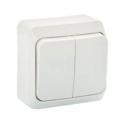 Выключатель Schneider Electric Этюд кнопочный накладной (белый)
