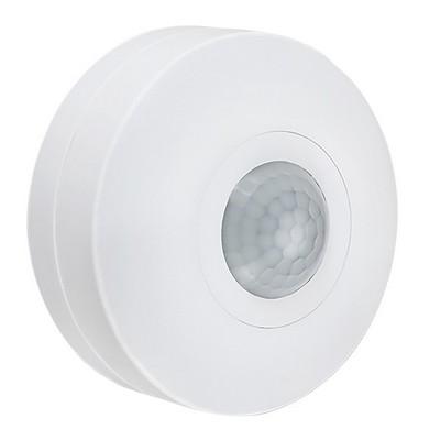 Датчик движения ИЭК ДД 025 белый, 1200Вт, 360 гр., дальность 6м,IP20