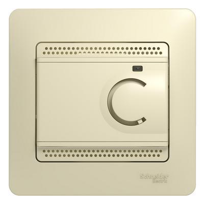 Терморегулятор теплого пола Schneider Electric GLOSSA 10A бежевый