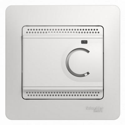 Терморегулятор теплого пола Schneider Electric GLOSSA 10A белый