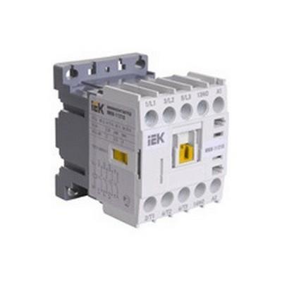 Миниконтактор ИЭК МКИ-10611 6А, с катушкой управления 230В/АС3 1Н3