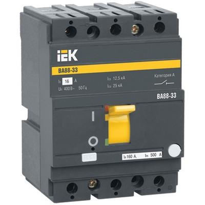Автоматический выключатель ВА88-33, 3-полюсный, 100А 35кА ИЭК