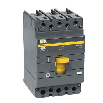 Автоматический выключатель ВА88-35 3х полюсный 100А 35кА ИЭК