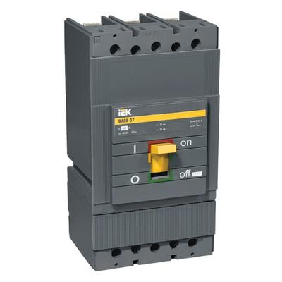 Автоматический выключатель ВА88-37, 3-полюсный, 315А 35кА ИЭК