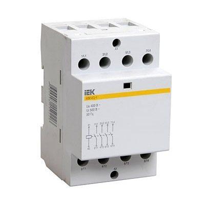 Контактор модульный КМ25-40 AC/DC ИЭК 400В