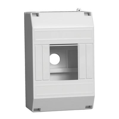 Бокс ИЭК КМПн 1/4-модуля, для 4-х автоматических выключателей, наружной установки