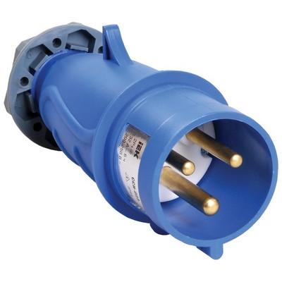 Вилка кабельная ИЭК MAGNUM ССИ-023 32А 200-250В 2Р+РЕ, IP44, силовая, переносная