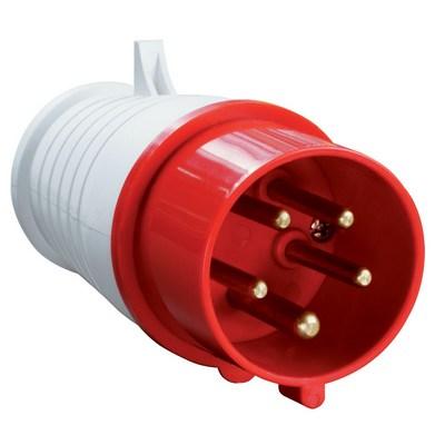 Вилка кабельная ИЭК 015 3Р+РЕ+N 16А 380В, IP44, силовая, переносная