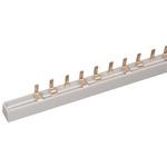 Шина соединительная типа PIN (12 штырей) 3-полюса 63А длина 22 см ИЭК