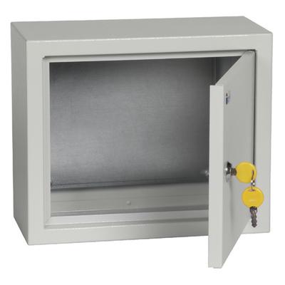 Щит металлический TDM ЩМП-2.3.1-0 (250х300х150) с монтажной панелью, IP31