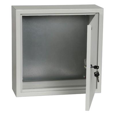 Щит металлический TDM ЩМП-3.3.15 (300х300х150) с монтажной панелью, IP31