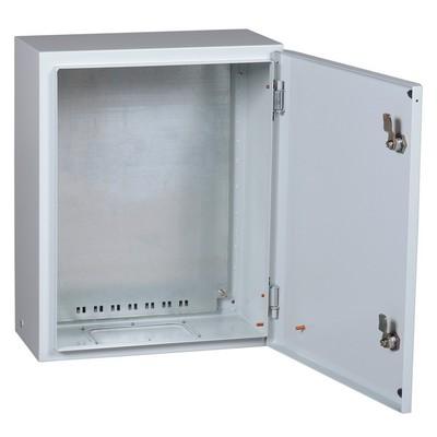 Распределительный щит ЩМП-2 ИЭК, с монтажной панелью, металлический, IP31, PRO, 500х400х220